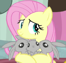 2105205__safe_screencap_fluttershy_teacher of the month (episode)_spoiler-colon-interseason shorts_animal_animated_cropped_cute_dawwww_dh.gif
