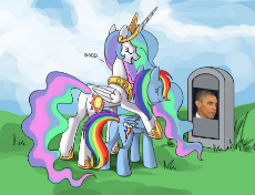 348498__safe_princess celestia_rainbow dash_barack obama_celestia's grave meme_exploitable meme_grave_gravestone_op is a duck_op is trying to start s.jpg