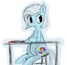 651647__dead source_safe_artist-colon-berrydrops_oc_oc only_oc-colon-tracy cage_earth pony_female_knife_mare_pony_solo_table.jpeg