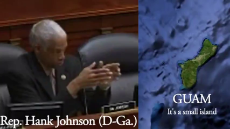 Guam will Capsize and Tip Over into the ocean Hank Johnson - House of Representative for Georgia.mp4