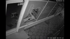 Woman fakes spousal injuries Headbutts through shop Window.mp4