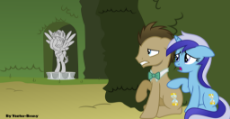 1449848__safe_artist-colon-vector-dash-brony_doctor whooves_minuette_time turner_a royal problem_spoiler-colon-s07e10_doctor who_duo_pony_scene interpr.png