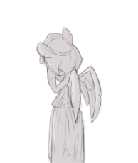 1190332__safe_solo_ponified_doctor who_shy_statue_artist-colon-disastral_weeping angel.png