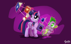 twilight_sparkle_and_spike_2_by_mysticalpha-d6e4z5k.jpg