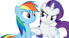 rarity_and_rainbow_dash_vector___ahem_by_cyanlightning-daqqg1y.png