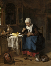 08_Old Woman Eating Porridge.jpg