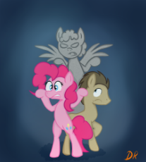 698358__safe_pinkie pie_ponified_doctor whooves_time turner_doctor who_weeping angel_weeping pegasus_artist-colon-paulbalkony.png