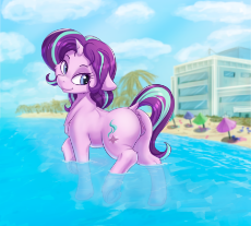 1790258__explicit_artist-colon-alcor_starlight glimmer_anatomically correct_anus_beach_cloud_dock_female_floppy ears_glimmer glutes_head .png