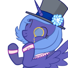 60990_-_top_hat_animated_monocle_clapping_luna.gif