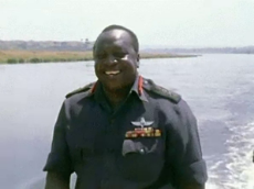 Idi Amin Laughing about the Holocaust.webm