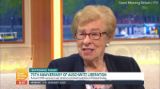 Anne Frank's step-sister Eva Schloss claims photos of Auschwitz are FAKE.mp4