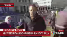 Daily Caller on Twitter A man at the Richmond 2A rally inter.mp4