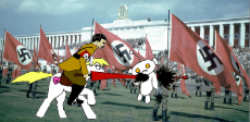 1860616__grimdark_artist-colon-anonymous_oc_oc-colon-aryanne_adolf hitler_blood_celebration_drawthread_flag_germany_impalement_impaling_lance_-fwslash-.jpeg