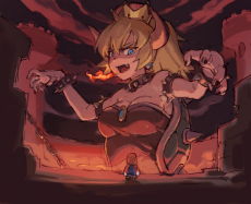 __bowser_bowsette_and_mario_mario_series_new_super_mario_bros_u_deluxe_and_super_mario_bros_drawn_by_tugo__72b6f1485a82f8e6bfbc73bba7cda863.jpg
