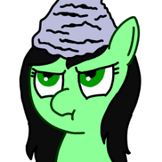 My Little Pony - Anonfilly - Tinfoil hat.png
