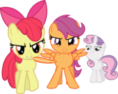 294907__safe_artist-colon-firestorm-dash-can_apple bloom_scootaloo_sweetie belle_just for sidekicks_absurd res_cutie mark crusaders_feather_imminent ti.png