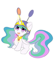 celestia filly clap hat.gif