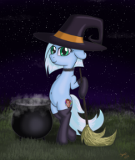 740676__safe_artist-colon-rainbow-dash-dosh_oc_oc only_oc-colon-tracy cage_broom_clothes_halloween_night_stockings_witch.png