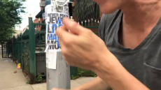 Jewish Lives Matter spotted in Brooklyn NYC.mp4