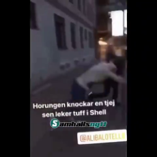 Swedish woman got culturally enriched.mp4