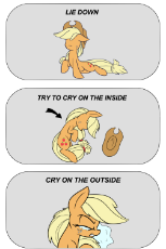 1047022__safe_artist-colon-heir-dash-of-dash-rick_applejack_crying_crying inside_daily apple pony_earth pony_meme_pony_reaction image_sad_solo_try not .png