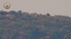 @PetTheGreat1 Syria NLF blew up with a TOW an ATGM position in NE. Latakia mounts. Crew likely neutralized..mp4