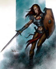 Captain-Soranna-Anitah-Portrait-of-the-Drellins-Ferry-town-guard-Red-Hand-of-Doom.jpg