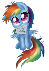 341191__safe_artist-colon-pridark_rainbow dash_filly_filly rainbow dash_it's time to stop posting_mouth hold_note_simple background_solo_stop posting.png
