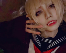 Yuka Takaoka cosplaying as Himiko Toga From Boku no Hero Academia.png