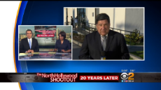 City, LAPD Officials Mark 20th Anniversary Of North Hollywood Bank Shootout.mp4