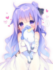 Loli with  unicorn plushy.jpg
