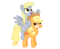 26280__safe_applejack_derpy hooves_angry_riding_ponies riding ponies_artist-colon-danleman14.png