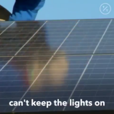 Oops! California residents learn solar panels dont work during blackouts.mp4
