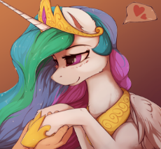 1900369__safe_artist-colon-blackkaries_princess+celestia_alicorn_cute_cutelestia_female_gradient+background_hand_heart_holding+hooves_hoof+shoes_human_.png