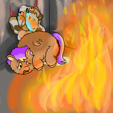 Fluffy Pony House Fire.png