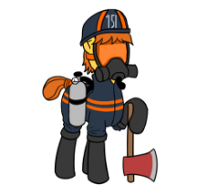 1555122__safe_alternate version_artist-colon-anonymous_edit_oc_oc-colon-fireaxe_oc only_alternate costumes_alternate timeline_alternate universe_axe_bo.png
