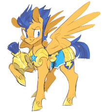 1563776__safe_artist-colon-xenon_flash sentry_armor_blushing_helmet_hoof hold_male_pegasus_simple background_smiling_solo_spread wings_stallion_unshorn.png