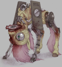 585752__solo_fluttershy_grimdark_blood_grotesque_nightmare fuel_gore_cyborg_what has science done_abomination.jpeg