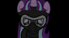 1030115__safe_artist-colon-mrflabbergasted_starlight glimmer_animated_crossover_knights of ren_kylo ren_lightsaber_mask_sithlight glimmer_staff of same.gif