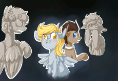 79425__safe_artist-colon-buljong_derpy hooves_doctor whooves_time turner_animated_crossover_female_mare_pegasus_pony_weeping angel.gif