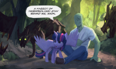 3684__safe_artist-colon-rhorse_twilight+sparkle_oc_oc-colon-anon_reversed+gender+roles+equestria_timber+wolf.png