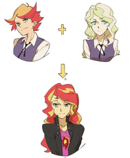 1504283__safe_artist-colon-chiechen_sunset shimmer_equestria girls_amanda o'neill_clothes_diana cavendish_little witch academia_simple background_whi.jpeg