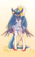 1182449__suggestive_artist-colon-conbudou_princess luna_bipedal_butt wings_clothes_female_nightgown_panties_pony_see-dash-through_semi-dash-anthro_sock.jpg