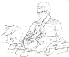 206677__safe_artist-colon-tex_rainbow dash_android_augmented_cyborg_gynoid_human_interspecies_monochrome_rainbot dash_repair_repairing_robot_sketch.png